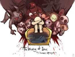 The binding of Isaac - My innermost apocalypse - by dalsegno2525