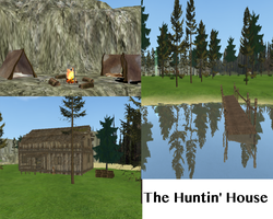 The Hunting House - FH Map by Carxalckz