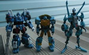 IDW Nightbeat 4 by BlurrzFire