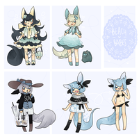 Beach Babe Adopts - CLOSED by kuroeko-adopts