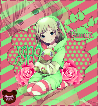 Dino Girl by AnniieStar
