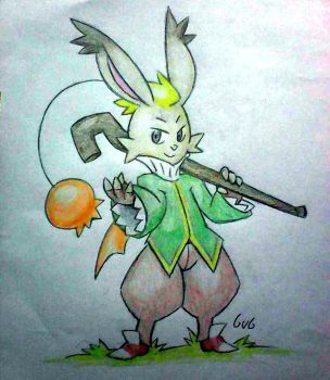 Montblanc the moogle by Fabaro