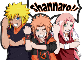 SHANNARO! - COLOR by NarutoXSakuraLOVE