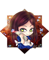 Alice Madness  chibi by Maruruu-Chan