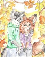 Autumn's Embrace by sporkyd00m