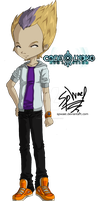 Code Lyoko Evolution: Odd Real World Outfit by FireLordWael