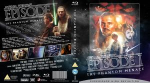 STAR WARS Episode I Blu-ray cover by MrPacinoHead