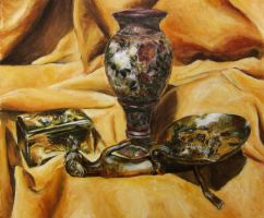 Still Life In Yellow by delph-ambi