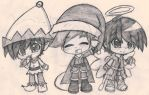 Trio JVG Christmas by Re-chan91