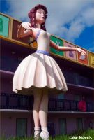 Ballerina at Disney All Star by lewmorris
