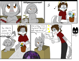 Dun Ignore the Kitteh by SmilehKitteh