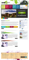 Colorful LeapStart Webdesign by ahsanpervaiz