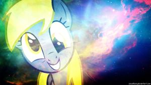 Herpy Derpy Wallpaper by FlipsideEquis