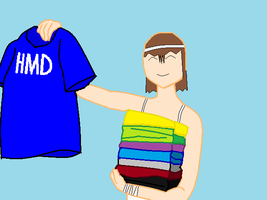 Heres Your Shirt Andrew by V1EWT1FUL