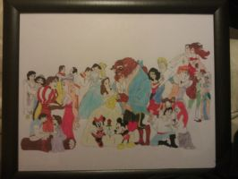 Disney Couple Collage by RaimiFilmProductions