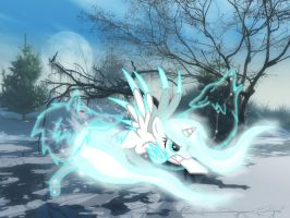 Ice queen by Dragonfire291