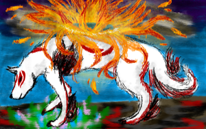 Okami by Illeh-Monster12