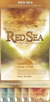 Red Sea Church Flyer Template by loswl
