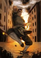 Legend of Korra - Bolin by MugenMcFugen