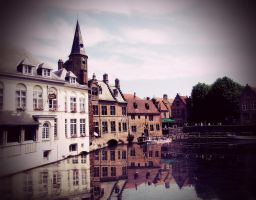 A Medieval Fairytale: Bruges by aninyosaloh