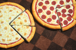 1:6 Scale Pizza by rottingteeth