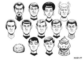 Star Trek TOS by b-maze