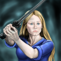 The White Lady of Rohan, Eowyn by guen20