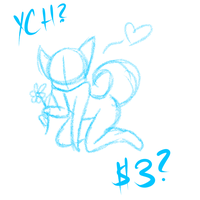 YCH Flower (Money for Vets) by BlueWaterRose