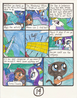 MLP:FiM The Wonderful Witch of Neigh's comic pg 14 by Magic-Kristina-KW