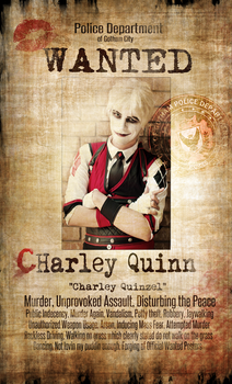 WANTED:: (c)Harley Quinn by NipahCos