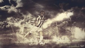 Andrea Pirlo by Meridiann