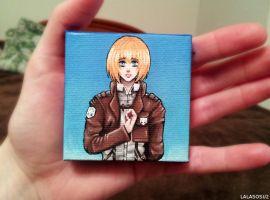 Mini Armin Painting by LALASOSU2