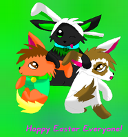 Happy Easter Everyone by GrowlitheArtistGirl