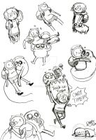 Adventure Time Sketches 11 by Celebi9