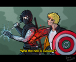 Naruto WS AU - Who The Hell is Sasuke? by JoeyHazelLM
