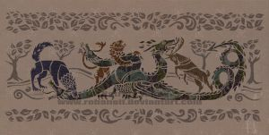 Game of Thrones Tapestry by RohanElf