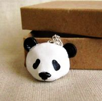 Panda necklace by FlowerLandBySaraMax
