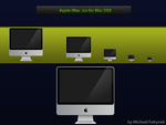 Apple iMac icns for Mac OSX by CASHMichi