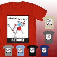 Transformers tshirt - Ratchet by v-for-vincent