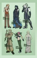Elenlond Characters 1 by DreamingRed