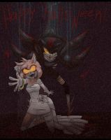 Shadow and Amy by CrazySonyaTheChaos