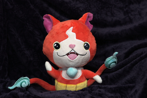 Jibanyan custom plush by Peluchiere