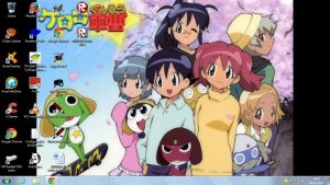 My Keroro Gunso Desktop by ElMarcosLuckydel96