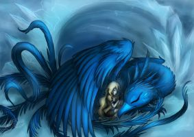 Blue fenix by nutJT