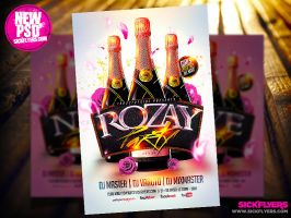 Rozay Flyer Template PSD by Industrykidz