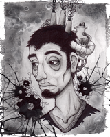 The Machinist by DablurArt