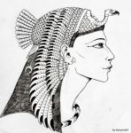 Queen Nefertari by Vampiria69