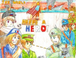 The World Needs a Hero by oneandonlyLLAT