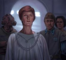 Mon Mothma by allendouglasstudio