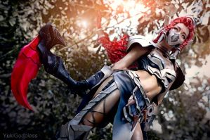 Akali: League of Legends cosplay I by yukigodbless